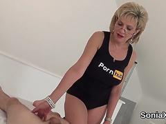 Unfaithful british mature lady sonia shows her big hooters on GotPorn 11442798