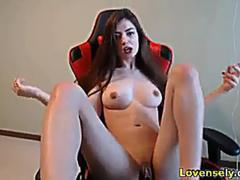 amazing girl has goood time with lovense dildo on GotPorn 11462164