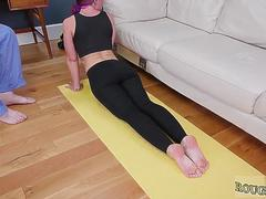 Babe bdsm Then he boinked her anally on a yoga ball and her yoga mat on GotPorn 11451114