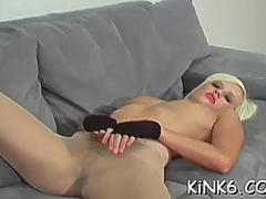 Girlfriend is pleying with her slit very gently on GotPorn 11469158