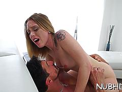 Dink pleasuring action by hot blonde sweetheart lucy tyler on GotPorn 11462692