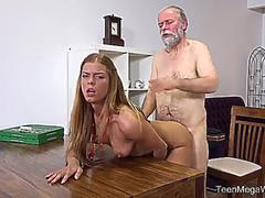 Chrissy Fox Old Man Pays A Hot Delivery Girl With Sperm on GotPorn 11469952