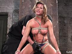 Busty Milf slave ass and pussy toyed on GotPorn 11490968