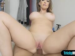 I cant resist my busty MILF stepmoms frustrated pussy on GotPorn 11499930