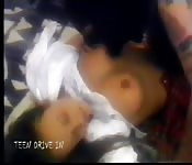 Sleeping girl gets hard bang