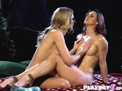 Two MILF lesbians enjoying in passion night outdoor on GotPorn 11688614