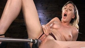 Lily Labeau Lily LaBeau is Power Fucked with the Machines