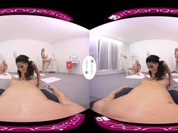 VR PORNOGRAPHY Marvelous Black Give A Majestick Oral In Class VR
