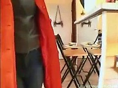 German mother with daughter first time on cam real