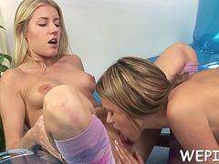 bitch is ing in a glass segment on GotPorn 11889240