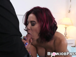 Sandy Haired COUGAR Ryder Skye gargling sonnie