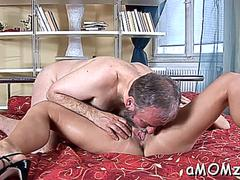 Delightful mature gal is moaning and groaning during sex on GotPorn 11873852