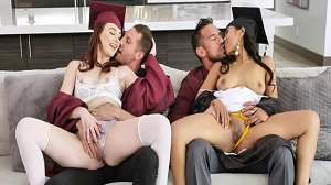 Jada Kai Danni Rivers Graduation Daughter Bangers