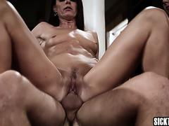 Hot stepdaughter banged by a guy in front of stepmom on GotPorn 11926962