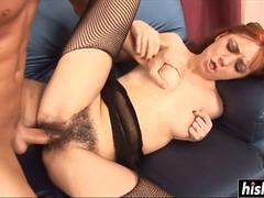 her hairy cunt takes a big dick movie on GotPorn 11916398