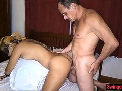 Filipina wife likes to be bound and used by strangers on GotPorn 11934308