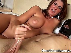 Busty milf loves a big cock and gets cumshot
