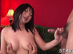 Awesome oriental megumi haruka prepares for blowjob on GotPorn 11968316