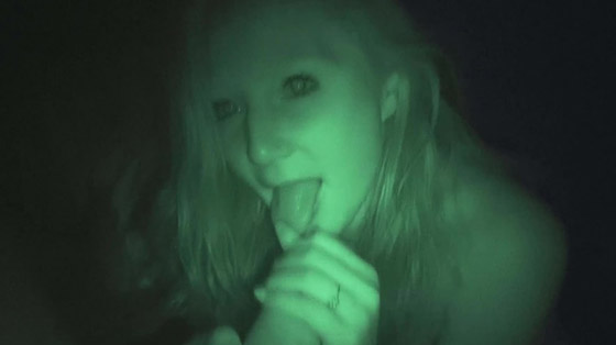 DTFSluts April Harmon Night Vision Anal Hookup