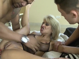Cathy High is a big boobed blondie whore who can t stop cuckolding her playmate because it senses great