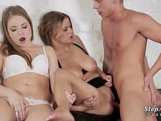 Alessandra Jane and Candy Alexa hot trio