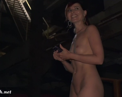The Lair Jeny Smith Going naked in an abandoned factory