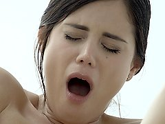 The white boxxx beautiful czech babe little caprice orgasms intensely in erotic fuck