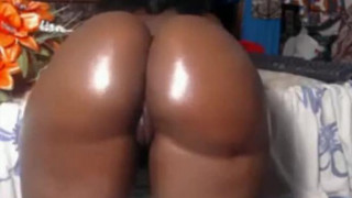 Webcam Huge butt black woman teasing