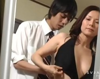 Japanese adult video wonderful Mother in law