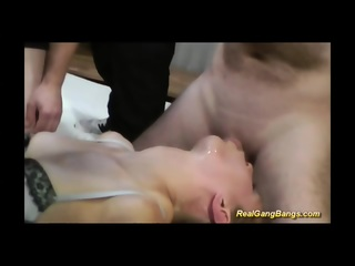 Teen Gets Many Cocks In Her Wet Holes