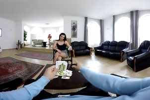 VR Bangers - Lucia Denvile Get Penetrated In The Back