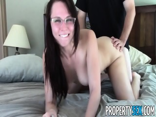 Highly Motivated Aidra Fox With Glasses Enjoys Wild Sex With Client