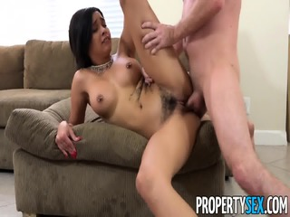 Landlord Fucks New Personal Assistant Aaliyah Hadid