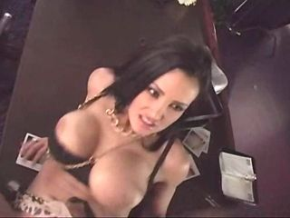 Lisa Ann  gets into a sticky mess