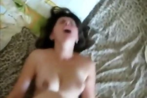She really enjoys being fucked hard