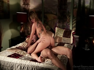Attractive Blonde Likes Dick Riding