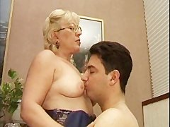 Mature Italian Teacher And The Young Student