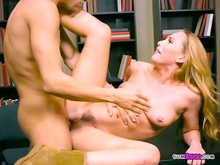 College Babe Carter Cruise Gets Boned And Facialized