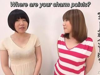 Subtitled Japanese ENF two amateurs strip and show butts