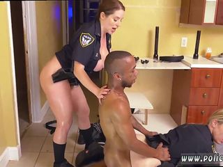 Real milf casting Black Male squatting in home gets our mummy officers squatting on his