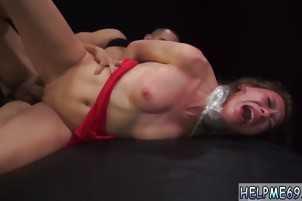anal tied Poor Callie Calypso.