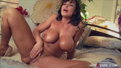 Tiny HotGVibe ring gets Lisa Ann off
