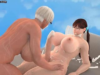 Lascive animated shemales doing blowjob