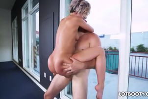 Lovely thick booty nympho Jada Stevens sucking and fucking